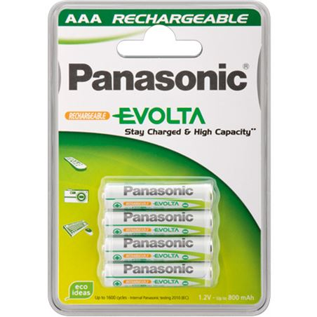 Pilas recargables Panasonic p034e ( blister 4aaa PAN034E