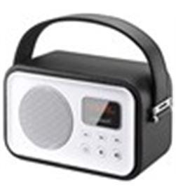 Radio portatil Sunstech rpbt450or retro negra RPBT450BK - RPBT450BK
