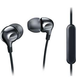 Auriculares Philips she3705 micrófono silicona negros she3705bk_00 PHISHE3705BK_00 - SHE3705BK00