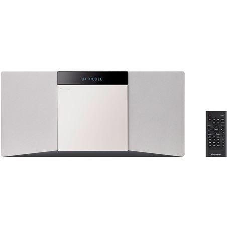 Sistema hi fi vertical Pioneer XSMC02W, blanca