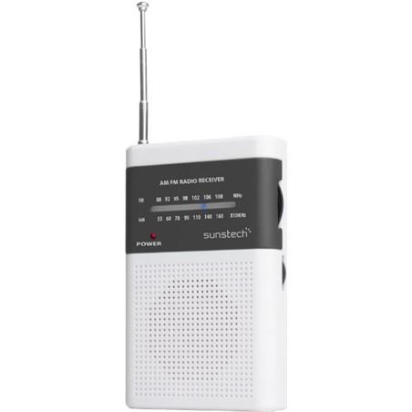 Radio butxaca Sunstech RPS42WT altavoz blanca