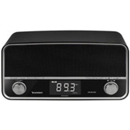 Radio Sunstech RPRUBT5000BK retro usb negra