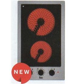 Placa modular vitroc Teka efx3012h 30cm 2 zon inox 40214405 - 40214405