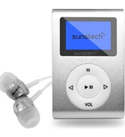 Reproductor mp3 Sunstech DEDALOIII4GBSL - DEDALOIII4GBSL