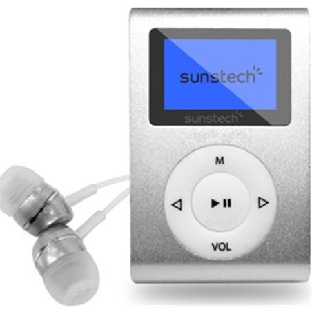 Reproductor mp3 Sunstech DEDALOIII4GBSL