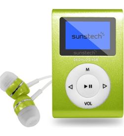 Reproductor mp3 Sunstech DEDALOIII4GBGN - DEDALOIII4GBGN