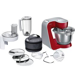 Bosch MUM58720 robot cocina rojo/plata 1000w Robots - BOSMUM58720