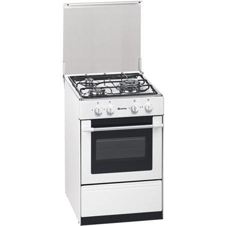 Cocina convertical  Meireles G1530DVWNAT, 3 fuegos, nat