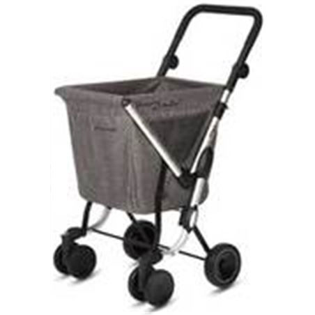 Playmarket carro compra play plegable we go gris textured 24960r268