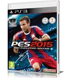 Sony juego ps3 pro evolution soccer 2015 57452 - 57452