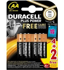 Pila Duracell plus aa(lr06) 4+2kp AALR06ULTRA6 Cables - AA(LR06)PLUS