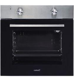 Horno Cata se6204x independiente convencional inox/negro a 07044600 - 07044600
