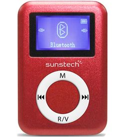 Mp3 4gb Sunstech DEDALO2BT4GBRD bluetooth rojo Reproductores MP3/4/5 - DEDALO2BT4GBRD