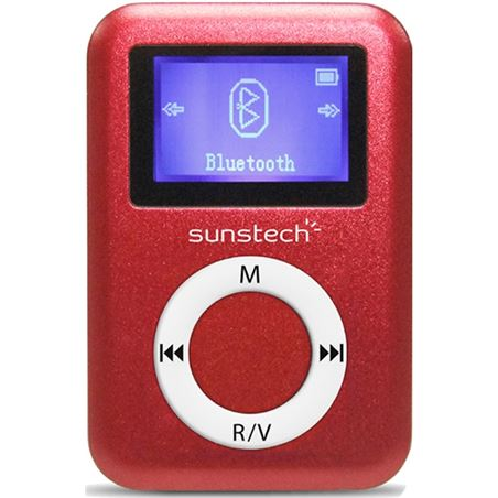 Mp3 4gb Sunstech DEDALO2BT4GBRD bluetooth rojo