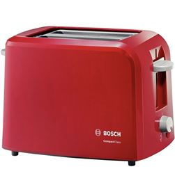 Bosch TAT3A014 tostador pae ,825 980 w, •para 2 reb - TAT3A014