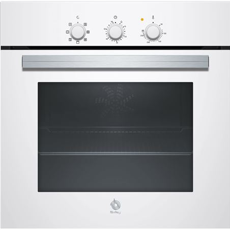Horno independiente 60cm Balay 3HB2010B0 blanco 66l a mult