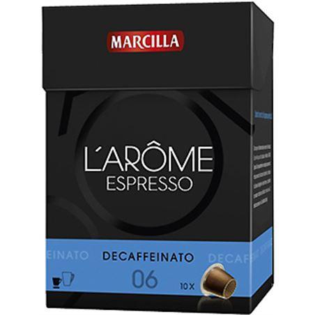 Capsula cafe descafeinado l' arome Marcilla 4018039