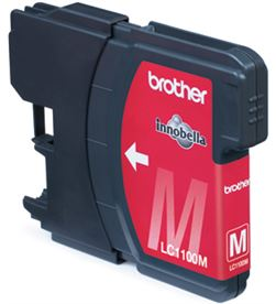 Brother lc-1100c cartucho tinta cyan lc1100c Impresión - BROLC1100MBP