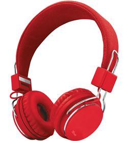 Trust 21822 auriculares diadema ziva manos libres rojos - TRU21822