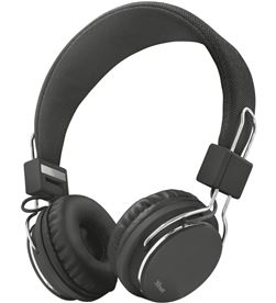 Trust 21821 auriculares diadema ziva manos libres negros - TRU21821