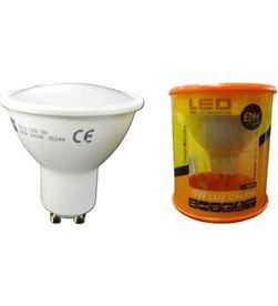 Todoelectro.es lampara led elektro gu-10 5w 3200k luz cálida elek35243 - 8425998352436