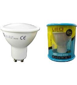 Todoelectro.es lampara led elektro gu-10 5w 6400k luz fría elek35244 - 8425998352443