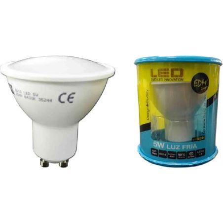 Todoelectro.es lampara led elektro gu-10 5w 6400k luz fría elek35244