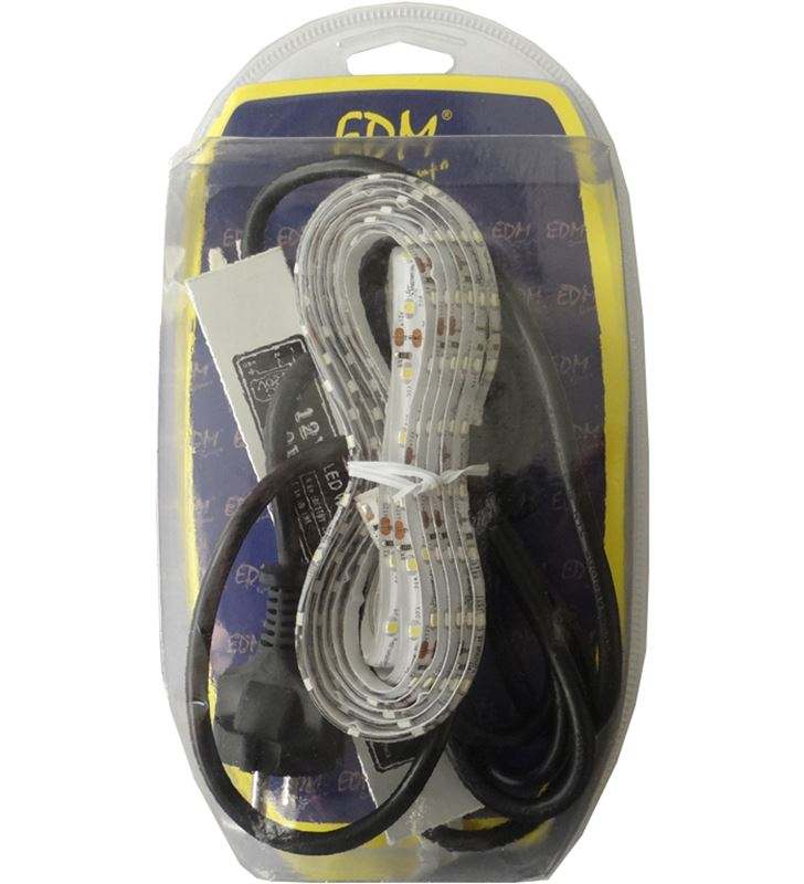 Todoelectro.es kit tira led 3 metros blanco cálido 3526 60 led/m elek31988 - 8425998319880