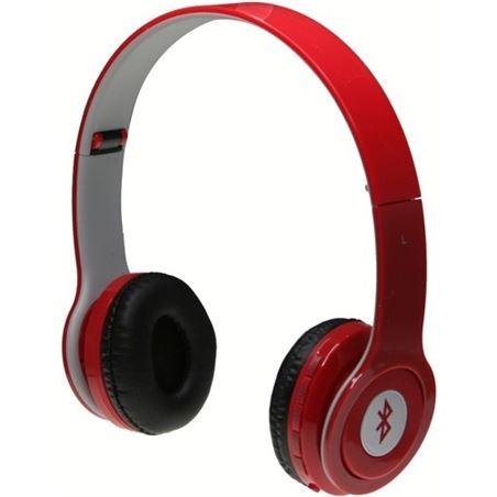 Japa auriculares woo bluetooth manos libres radio microsd rojo woo310383