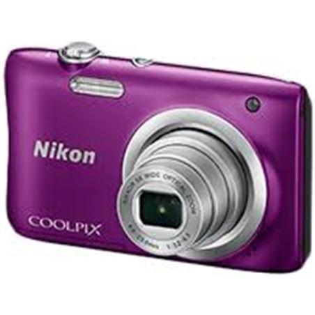 Cámara digital Nikon coolpix a100 lila 20mp 5x NIKA100PU1