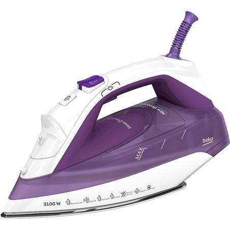 Plancha de vapor Beko spa7131b violeta BEKSPA7131P
