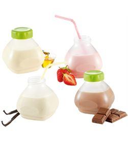 Tefal accessorio de 6 botellines de yogur líquido xf102032 tefxf102032 - XF1020