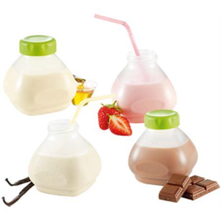 Tefal accessorio de 6 botellines de yogur líquido xf102032 tefxf102032