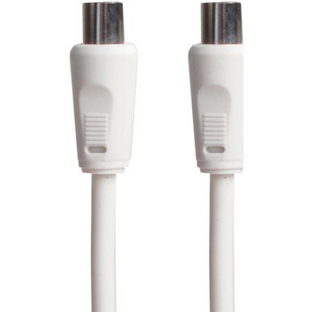 Cable antena Sinox blanco 2,5m filtro 4g SINOCTV9023