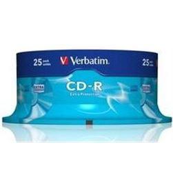 Bobina 25 cd's Verbatim 80m 52x VERCDR80_25 Almacenamiento de datos - 023942434320