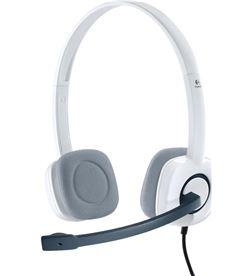 Logitech 981000350 pc headset h150 blanco Sonido - 981-000350