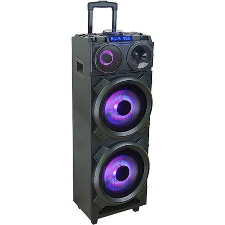 Altavoz trolley swiss go Taurus 150w bluetooth usb fm micrófono mesa mezcla SWISSWI303240
