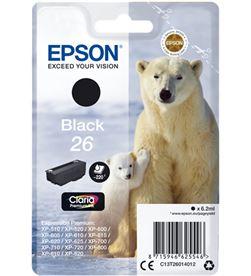 Epson C13T26014012 tinta negra 26 Impresión - EPSC13T26014012