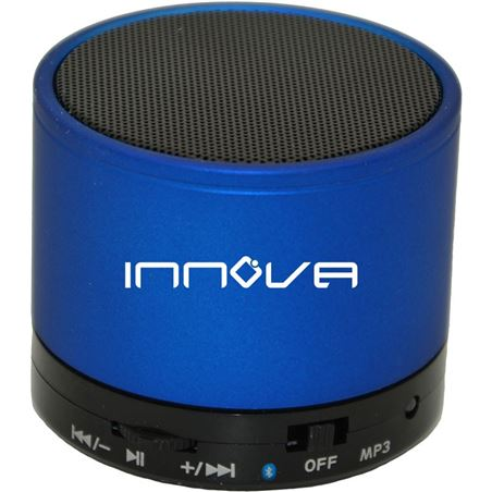 Todoelectro.es altavoz innova alt/14 manos libres bluetooth micro sd usb azul innoalt_14_azu