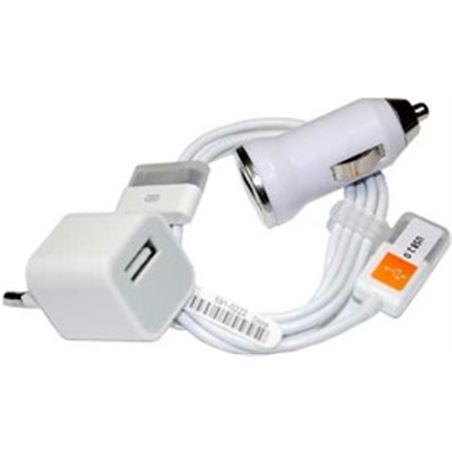 Todoelectro.es cargador 3en1 para ip4 i3