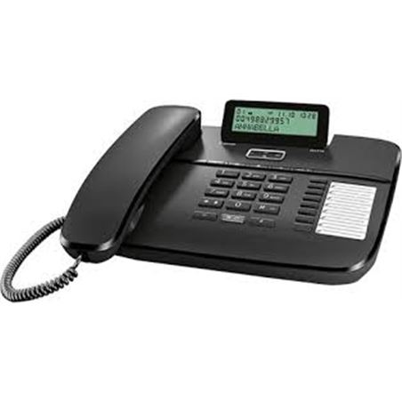 Siemens telefono sobremesa gigaset da710 pantalla, negro