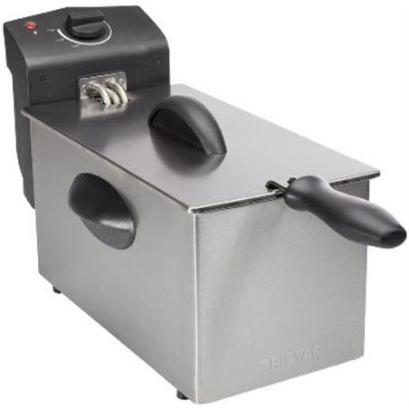 Todoelectro.es freidora capacidad 3,0l de acero inox 2000 w fr6935