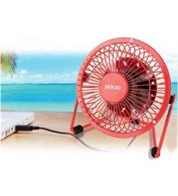 Todoelectro.es ventilador sogo por usb 4.3w/24 ss3004 - SS3004