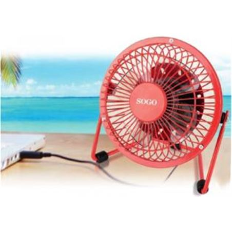 Todoelectro.es ventilador sogo por usb 4.3w/24 ss3004