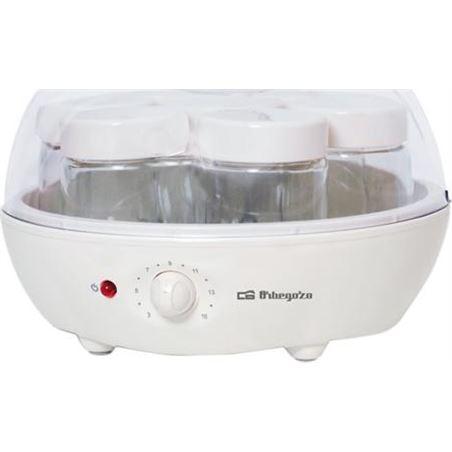 Orbegozo yogurtera para 7 yoyures. incorpora 7 tarros de cr yu2225