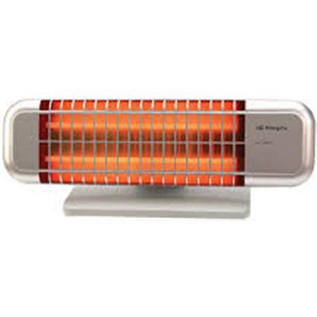 Radiador cuarzo Orbegozo BP0102, 1200w, 2 tubos, a