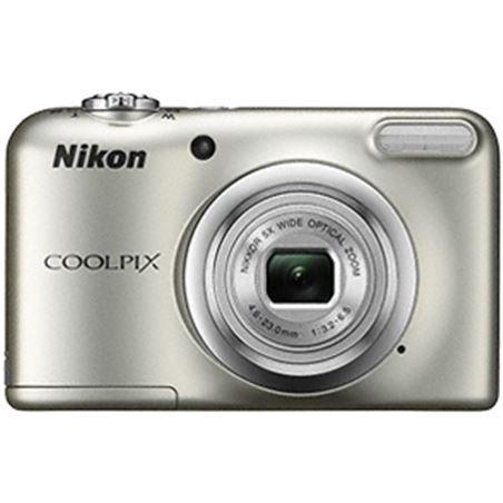Nikon coolpix a10 plata +est 16,1mp ccd-w5x-2,7'' h NIKA10S1