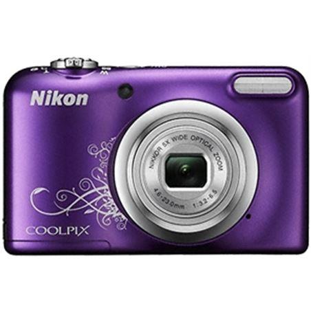 "Nikon coolpix a10 morado +est 16,1mp ccd-w5x-2,7"" NIKA10PU1"