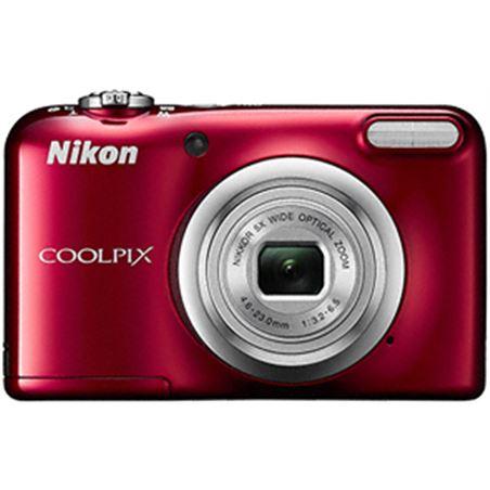 "Nikon coolpix a10 rojo +est 16,1mp ccd-w5x-2,7"" hd NIKA10R1"