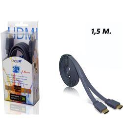 Todoelectro.es cable plano hdmi 1.5 metro ver 1.4(80/c)cb-8202 - CB-8202